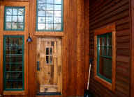 Antique Oak - ' Patina ' Grade stock - exterior door